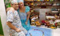 Mãe Alessandra recebe liberação de seu axé de Ifá
