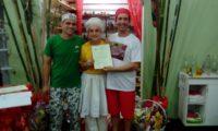 Oxum Dioni de Mãe Fabiana faz 13 anos