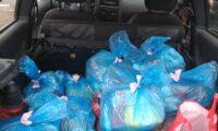 Campanha Sacolas solidárias realiza nova ação de distribuição